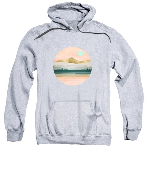 Spring Forest Lake Sweatshirt