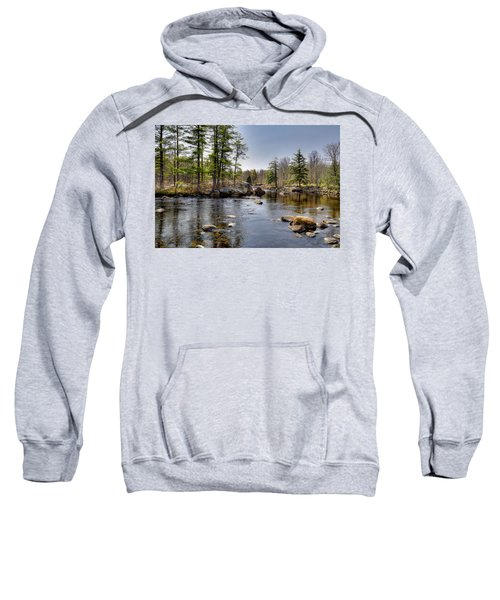 Sweatshirt featuring the photograph Spring Near Moose River Road by David Patterson