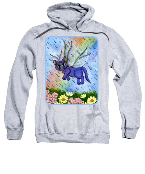 Spring Showers Fairy Cat Sweatshirt