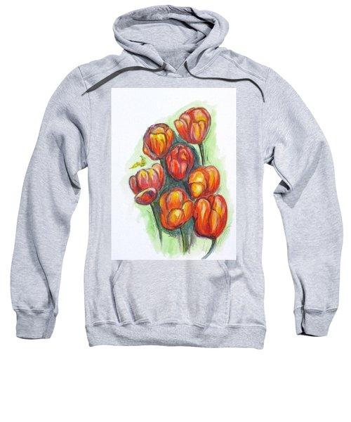 Spring Tulips Sweatshirt