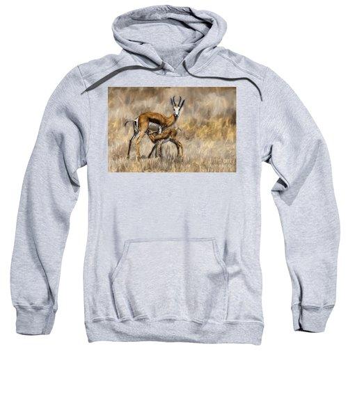 Springbok Mom And Calf Sweatshirt