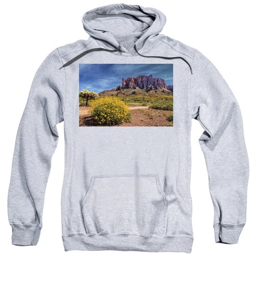Springtime In The Superstition Mountains Sweatshirt