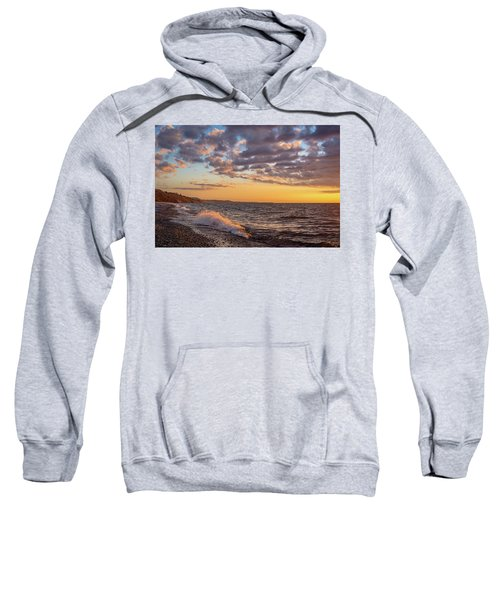 Springtime On Agate Beach Sweatshirt
