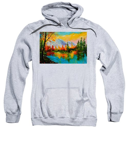 Springtime Reflections Sweatshirt