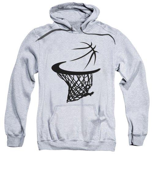 Spurs Basketball Hoop Sweatshirt