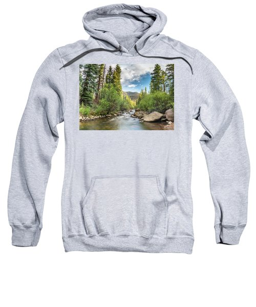 Squaw Creek, Colorado Sweatshirt