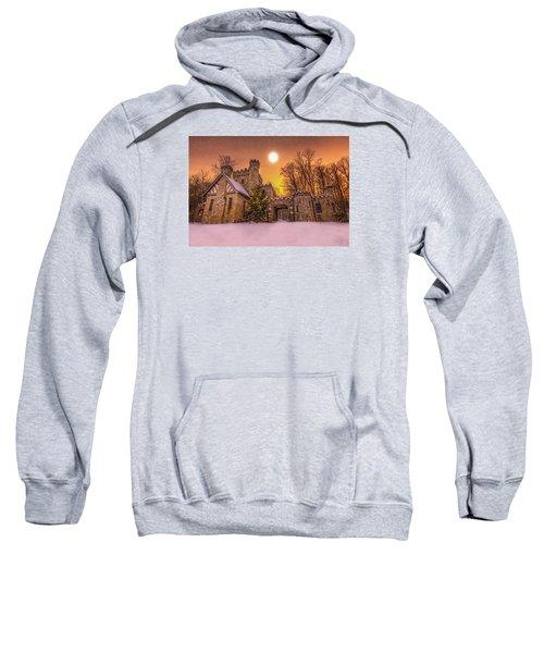 Squires Castle In The Winter Sweatshirt