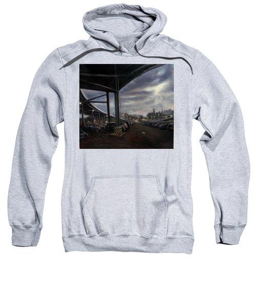 St. George From The Staten Island Ferry Terminal Sweatshirt