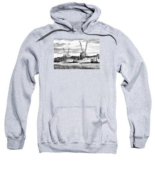 St. Helena Shrimp Boats Sweatshirt