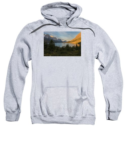 St. Mary Lake Sweatshirt by Gary Lengyel