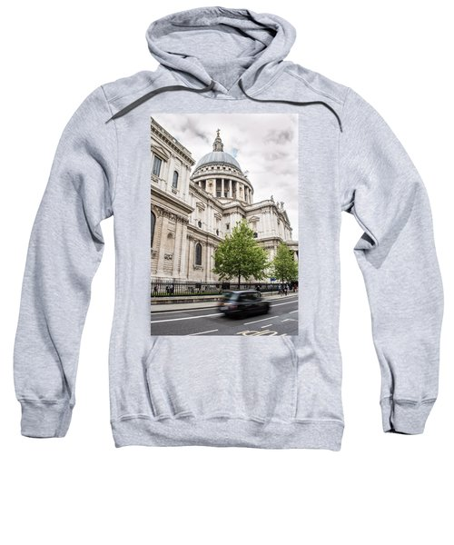 St Pauls Cathedral With Black Taxi Sweatshirt