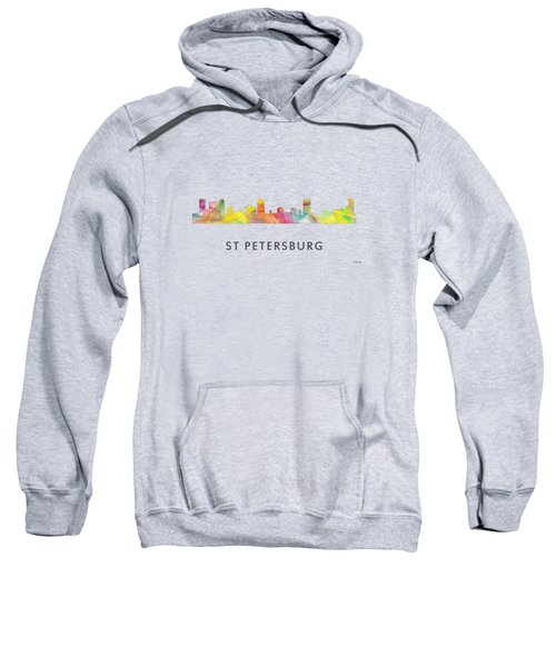 St Petersburg Florida Skyline Sweatshirt