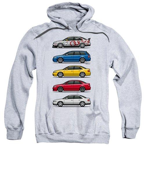 Stack Of Audi A4 B5 Type 8d Sweatshirt