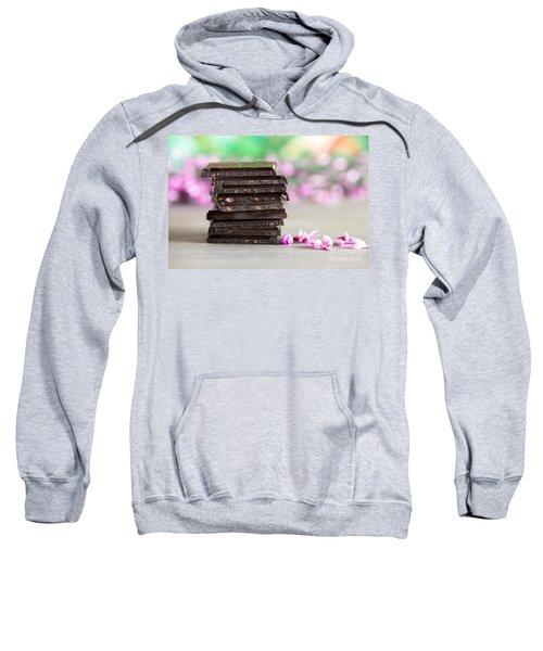 Stack Of Chocolate Sweatshirt