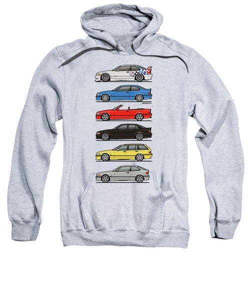 Stack Of E36 Variants Sweatshirt
