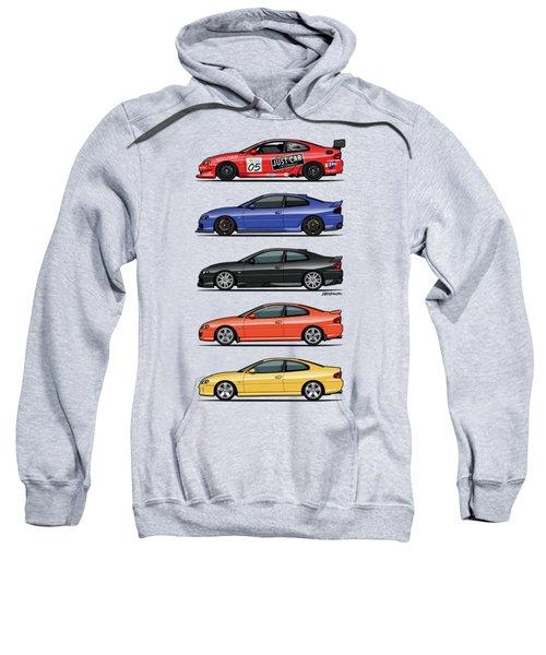 Stack Of Holden Monaros Sweatshirt