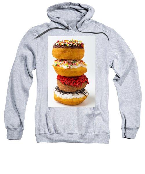 Stacked Donuts Sweatshirt