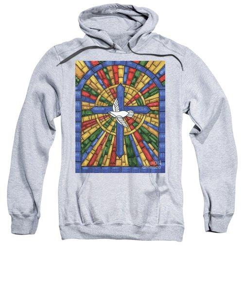 Stained Glass Cross Sweatshirt