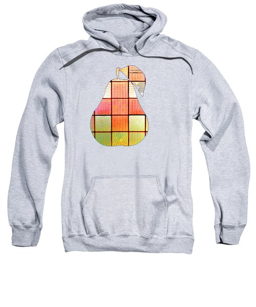 Stained Glass Pear Sweatshirt