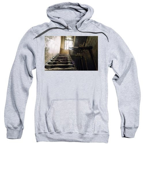 Stairs In Haunted House Sweatshirt