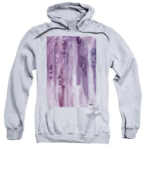 Stalks Of Lavender Sweatshirt