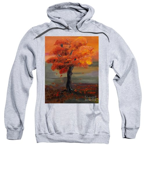 Stand Alone In Color - Autumn - Tree Sweatshirt