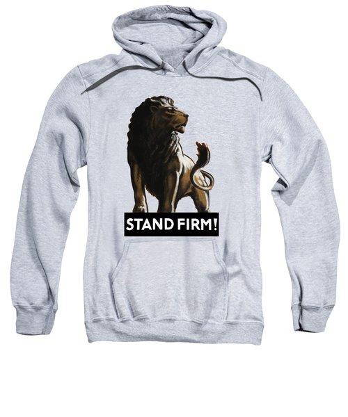 Stand Firm Lion - Ww2 Sweatshirt