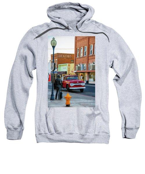 Standin On The Corner Park Sweatshirt