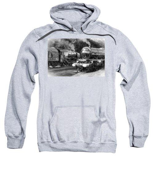 Stanier Pacifics At Swanwick Sweatshirt
