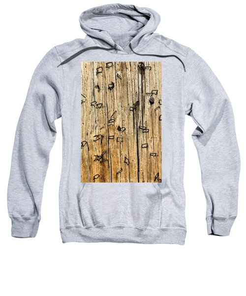 Stapled Sweatshirt