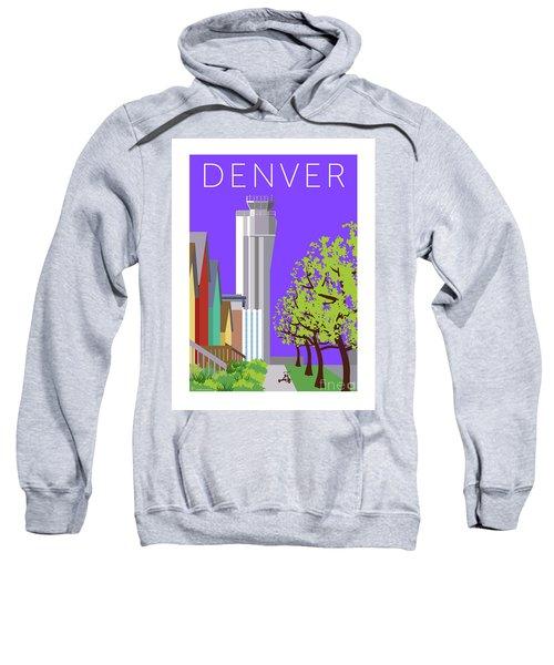Sweatshirt featuring the digital art Stapleton Spring by Sam Brennan