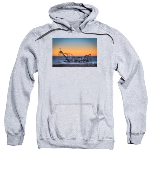 Star Jet Roller Coaster Ride  Sweatshirt