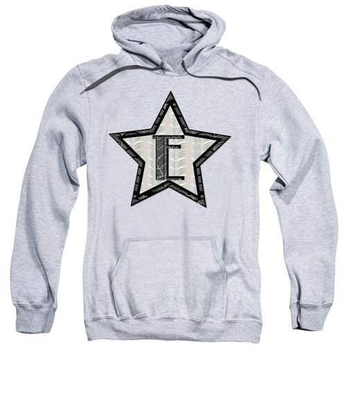 Star Of The Show Art Deco Style Letter E Sweatshirt