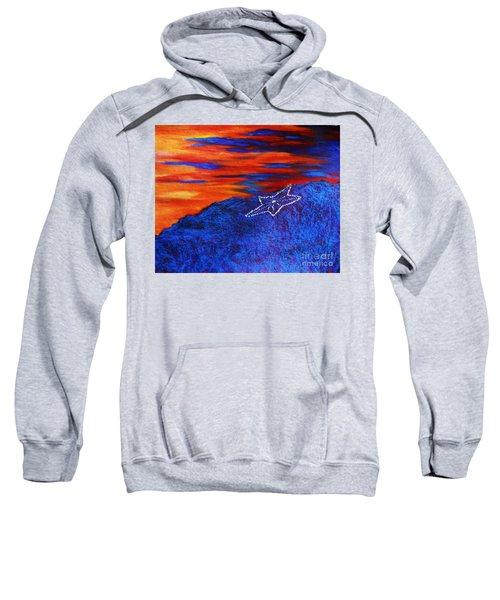 Star On The Mountain Sweatshirt
