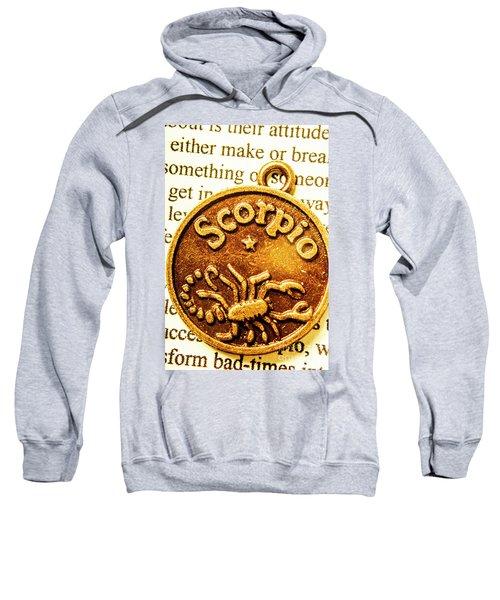 Star Sign In Scorpio Sweatshirt