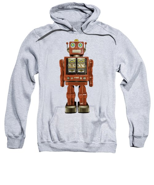Star Strider Robot Red Sweatshirt