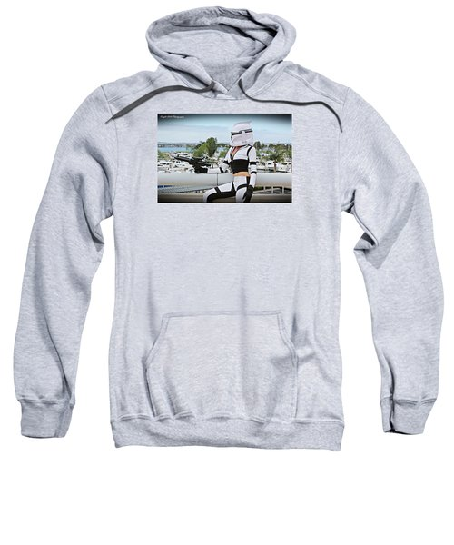 Star Wars By Knight 2000 Photography - Clone Wars Sweatshirt