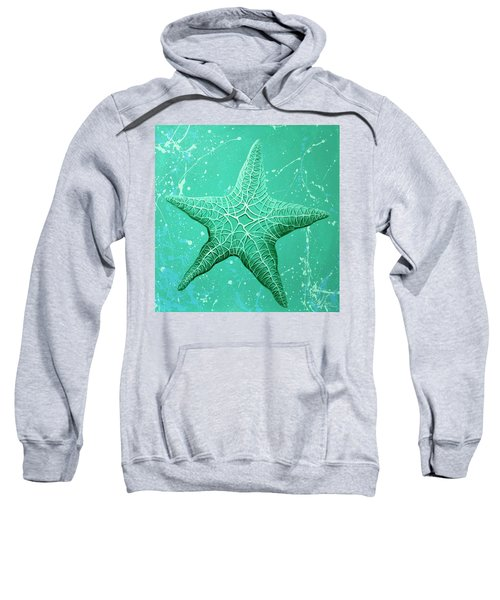 Starfish In Teal Sweatshirt