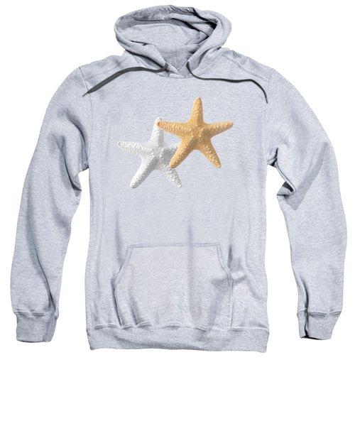Starfish On Turquoise Sweatshirt