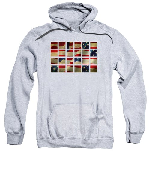 Stars And Stripes And Squares Sweatshirt