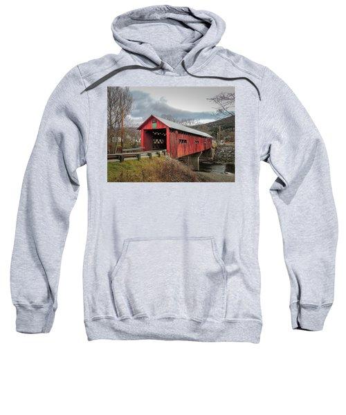 Station Covered Bridge Sweatshirt