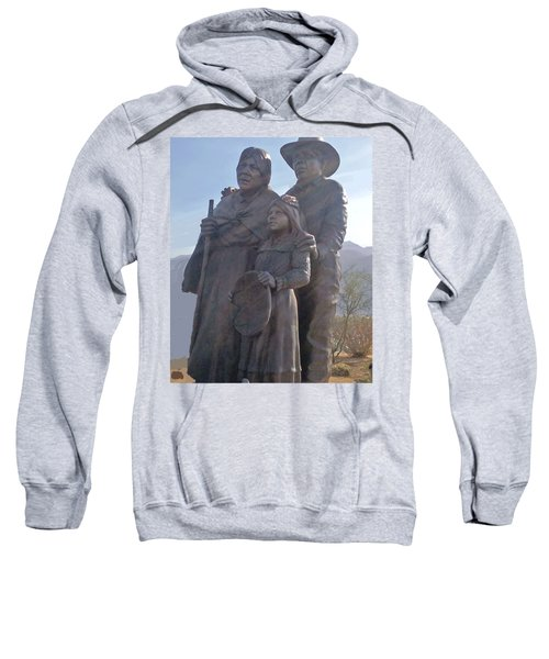 Statuary Dedicated To The American Indian Sweatshirt