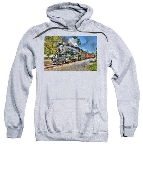 Steaming Sweatshirt