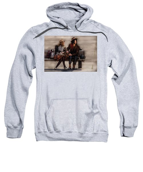 Steampunk - Time Travelers Sweatshirt