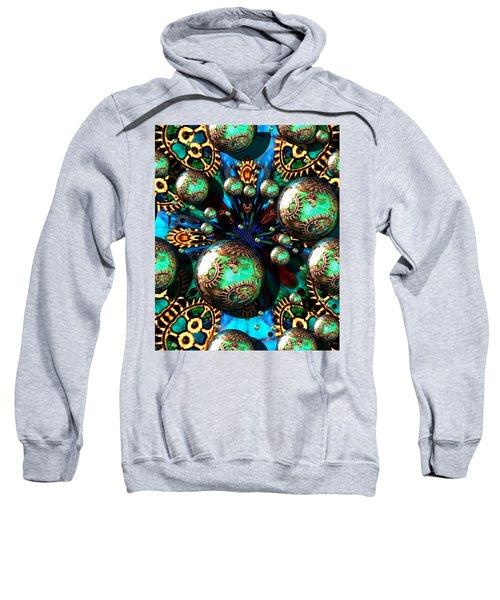 Steampunk Fractal 71216.4 Sweatshirt