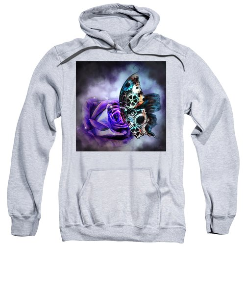 Steel Butterfly Sweatshirt