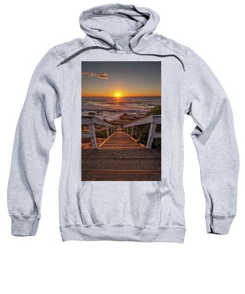 Steps To The Sun  Sweatshirt