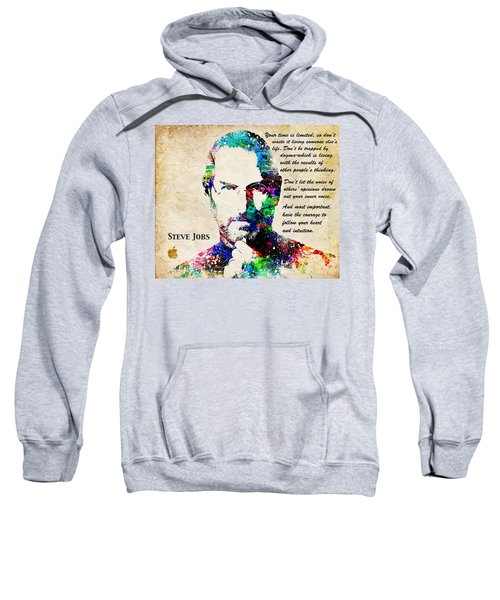 Steve Jobs Portrait Sweatshirt