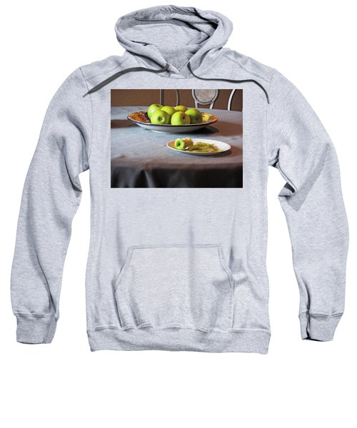 Still Life With Apples And Chair Sweatshirt