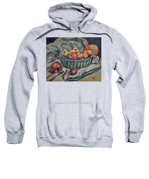 Still Life With Fruit And Vegetables Sweatshirt